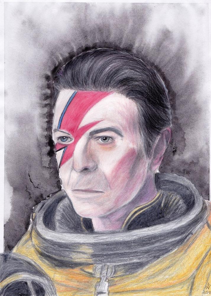David Bowie by monkfan1992
